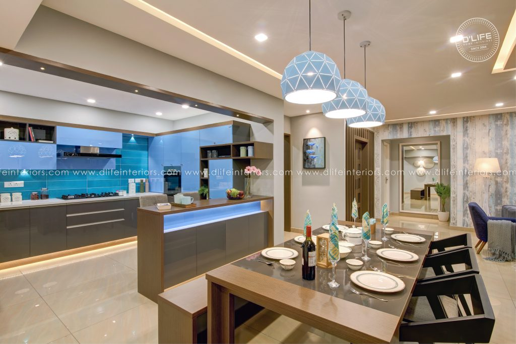 home interiors in Kerala by dlife home interiors
