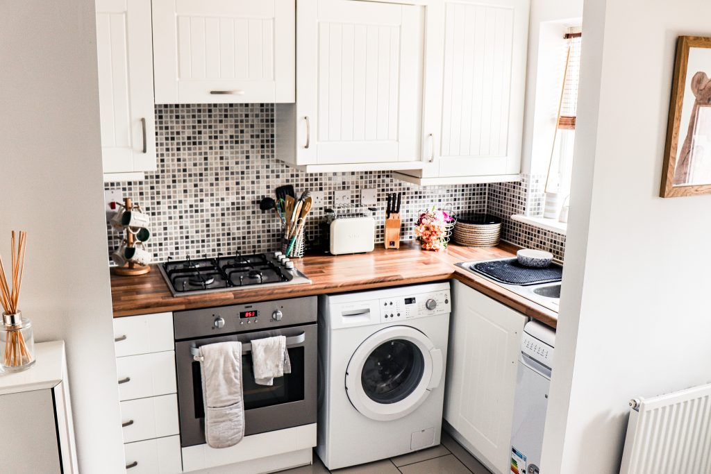 Laundry room at home